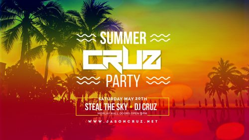Steal the Sky May 20th at Seacrets